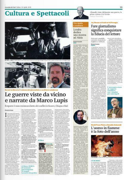 Articolo Gazzetta 14-04-18 Il Male Inutile