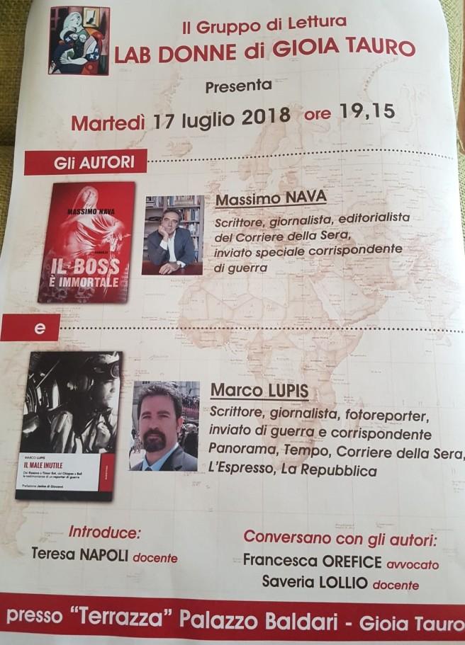 Manifesto Gioia Tauro