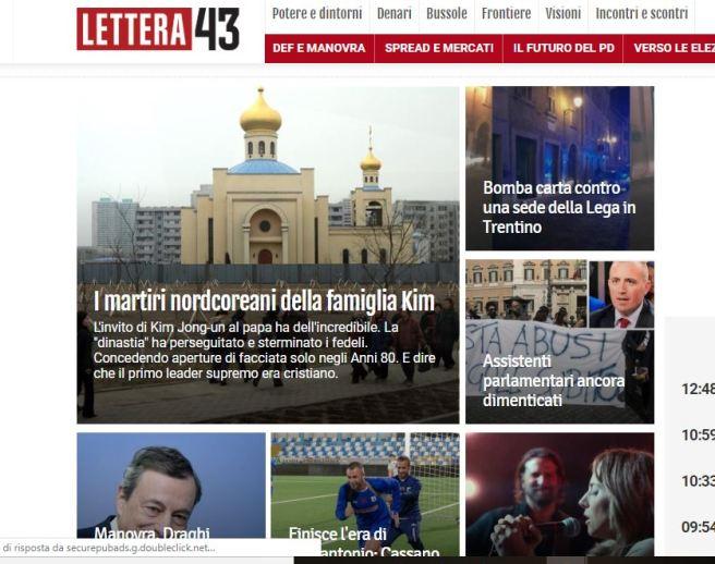 Lettera43