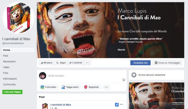 Cattura facebook cannibali